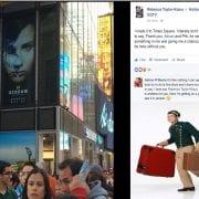 Bex's 1st Times Square Billboard!