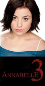 Katie Sarife - Annabelle 3